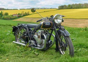 1935 Ariel 4F Cammy SQ4 near Bryanston