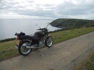 Coastal road with sea views